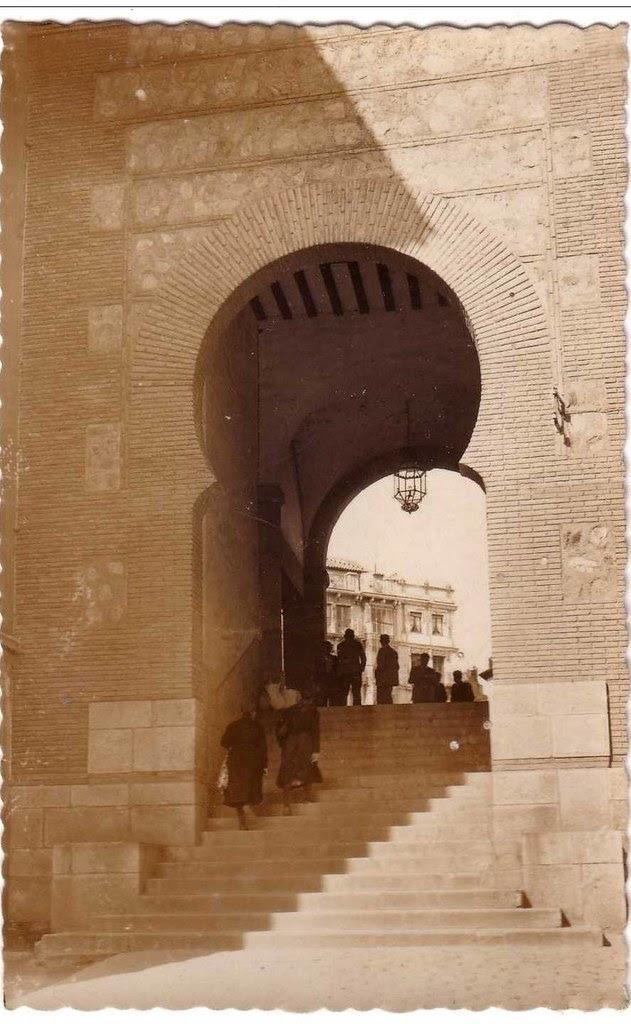Arco de la Sangre a mediados del siglo XX