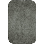 "17""x24"" Solid Bath Rug Matte Pewter - Room Essentials"