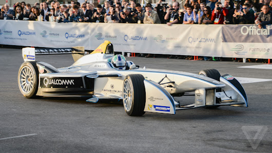 The electric grand prix: the world's first Formula E car packs a punch