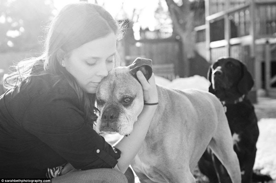 Final embrace: These special, end-of-life photography sessions are just for terminally ill or elderly pets