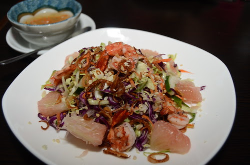 aquaknox pomelo salad