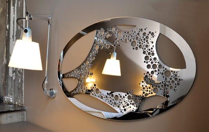 Wandgestaltung mit Spiegeln - optische Raumerweiterung ...