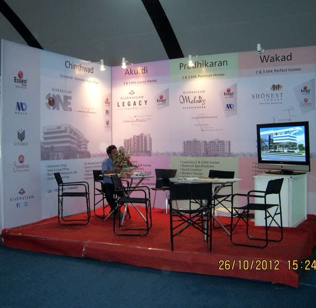 Aishwaryam (www.aishwaryam.net) - Exhibition of Properties in Hinjewadi, Wakad, Baner, Balewadi & Bavdhan! - PROFEST WEST 2012 by CREDAI Pune Metro on 26 - 27 -28 October 2012 at VITS Hotel, Balewadi, Pune