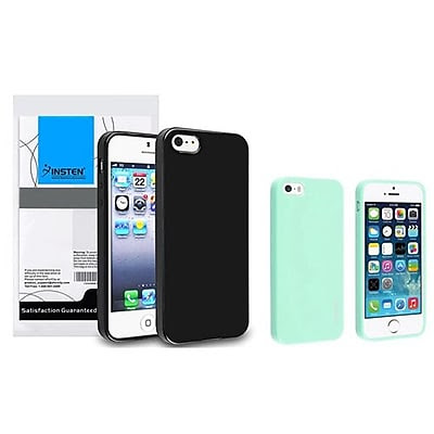 Insten 833404 2-Piece iPhone Case Bundle For Apple iPhone 5/5S