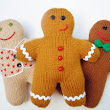 Knit Some Gingerbread for Christmas – free patterns – Grandmother's Pattern Book