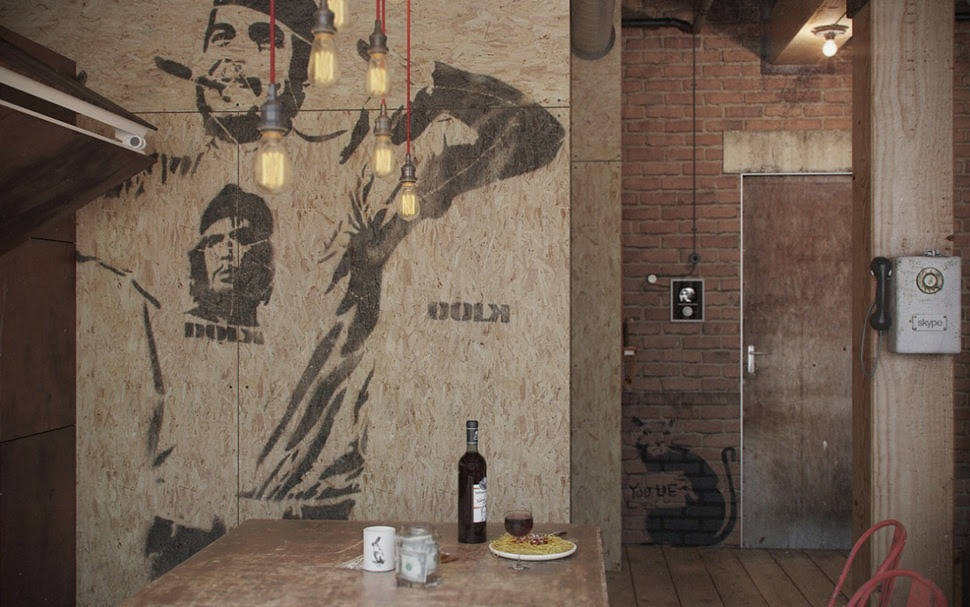 Industrial Influence Abound In Urban Masculine Apartment By Nordes ...