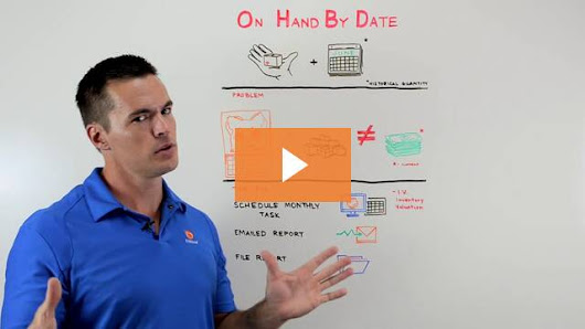 Whiteboard Wednesday: Inventory Quantity on Hand By Date | Fishbowl Blog