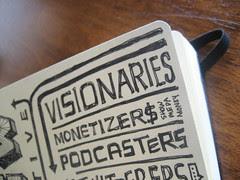 SXSWi 2009: Sketchnotes: Monetizer$