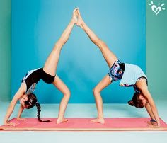 gymnastics 1 person yoga poses for kids
