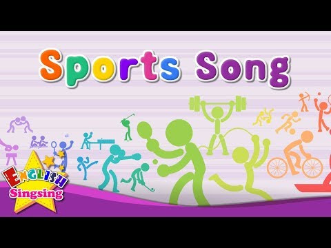 Unit 6: Sports mad song