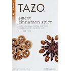 Tazo Sweet Cinnamon Spice Herbal Tea - 20 bags, 1.5 oz box