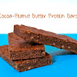 Cocoa-Peanut Butter Protein Bars (Vegan, Gluten-Free, Dairy-Free)