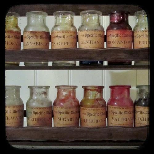 Fake Vintage Medicine Bottles