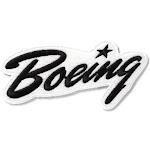 Boeing Script Heritage Patch