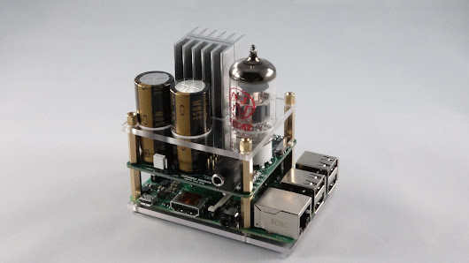 Hybrid Tube Amp for the Raspberry Pi