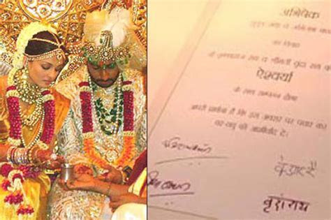 10 Most Interesting Wedding Invites of Bollywood Celebrity