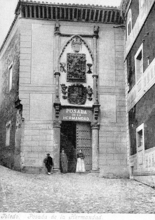 Posada de la Hermandad a principios del siglo XX