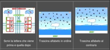 Bianco per tutti da baby flash esercizi sull 39 ordine for Baby flash italiano doppie