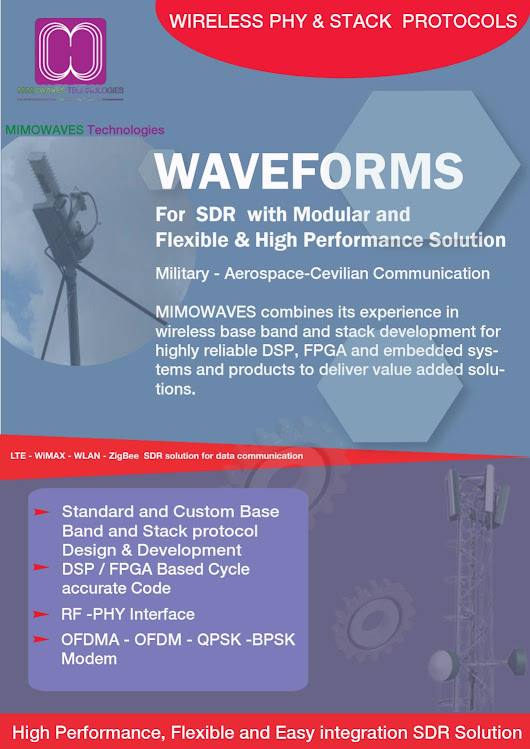 SDR for Military - Aerospace-Cevilian Communication