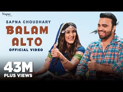 Balam Alto Lyrics Sapna Choudhary