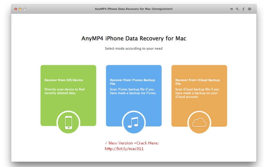 AnyMP4 iPhone Data Recovery 7.3.18 Cracked Serial For Mac OS X \u00ab ShareFreeAll.com