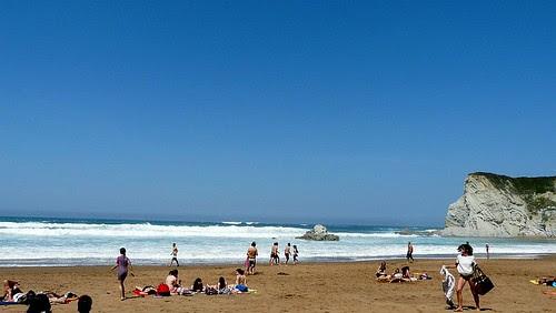 Sopelana surf, Semana Santa en la playa