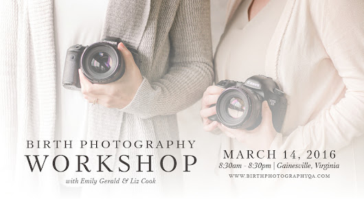 A Big Announcement | East Coast Birth Photography Workshop