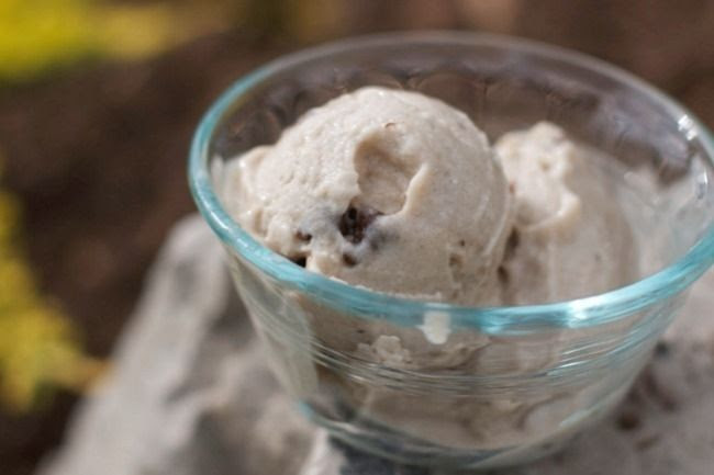 Banana and Chocolate Chip Ice Cream