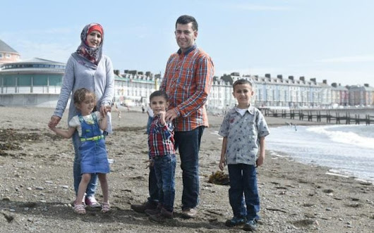Meet the Syrian refugees living in Aberystwyth: 'Thank you for welcoming us'