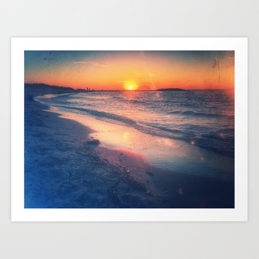 Quartz is the mirror for the sun Art Print by Metamorview | Society6
