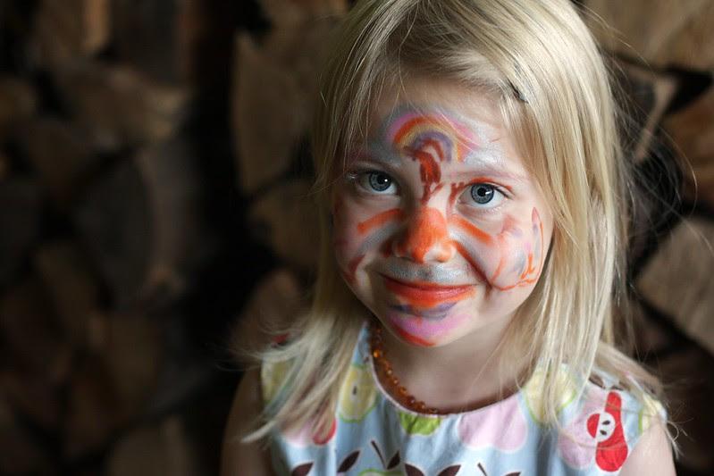 C's face paint