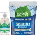 Seventh Generation Free+Clear Dishwasher Set