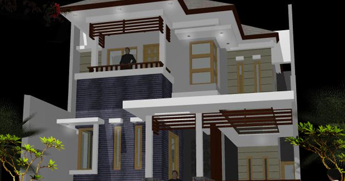 Desain Rumah Minimalis Ukuran 8 X 16