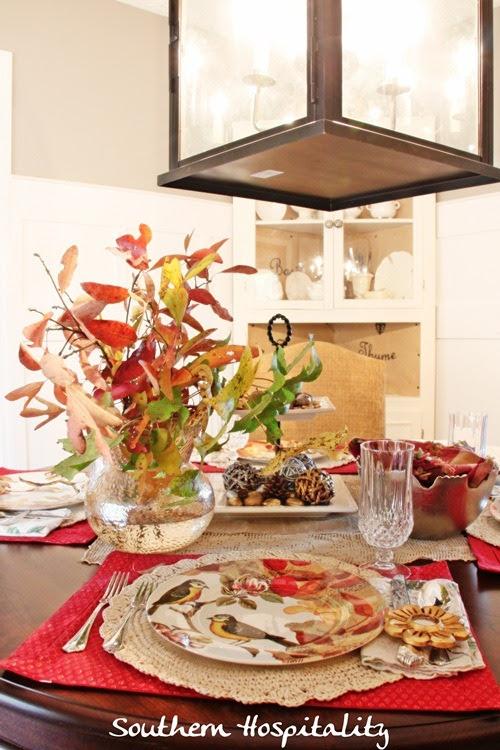 Fall Table Setting Ideas - Southern Hospitality