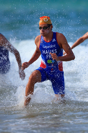 David Hauss - 2011 Mooloolaba ITU World Cup Triathlon - Men. Mooloolaba Triathlon Festival, Saturday 26 March 2011, Sunshine Coast, Queensland, Australia. Photos by Des Thureson: http://disci.smugmug.com