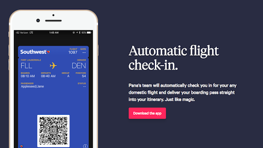 Pana Is a Collaborative Travel Planning App With Automatic Flight Check-In