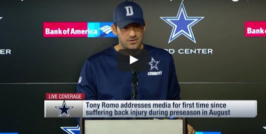 Tony Romo and Dak Prescott: A Productivity Lesson