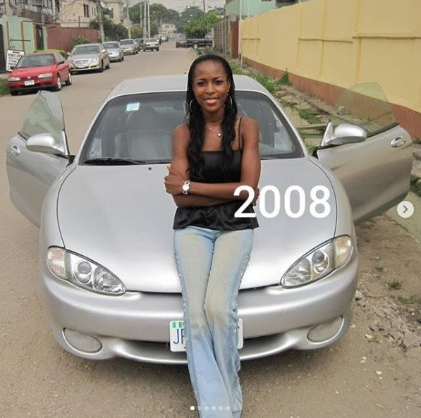 Linda Ikeji Shows The Cars She Has Owned From 2008 Up Till 2018 (PHOTOS)
