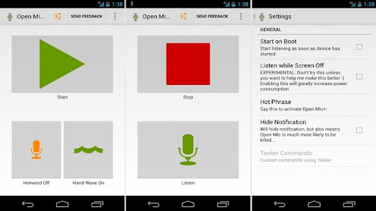 Open Mic+ Android App Brings Moto X Touchless Controls To Jelly Bean Devices