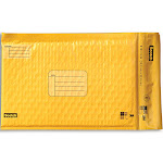 """Scotch Poly Bubble Mailer, Yellow, 6"""" x 9.25"""" - 4 pack"""