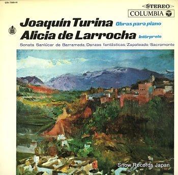 LARROCHA, ALICIA DE turina; obras para piano
