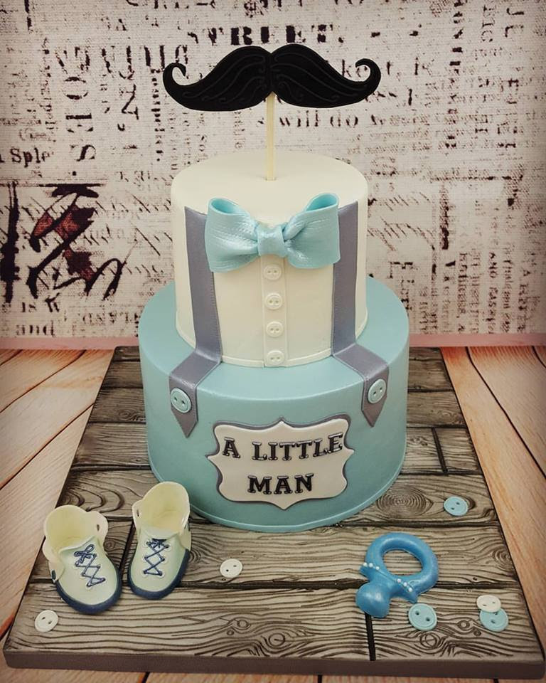 Lil Man Baby Shower Cakes : shower, cakes, Shower, Little, Viewer
