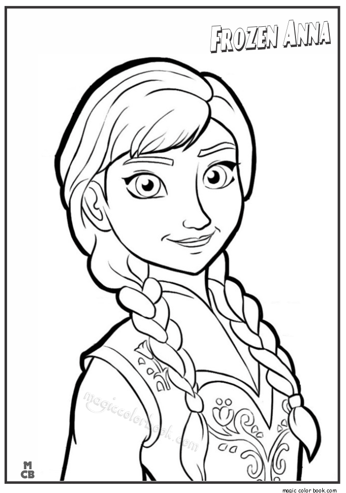 Frozen Drawing Anna At Getdrawings Com Free For Personal Use