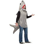 SAND SHARK ADULT Costume - 84838 - Light Brown - One Size
