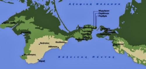 Οι Ρώσοι δίνουν στην Κριμαία την αρχαία Ελληνική ονομασία Ταυρίδα