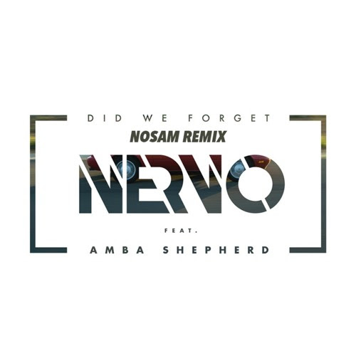 Nervo - Did We Forget ( NOSAM Remix ) [Official Remix] by NOSAM