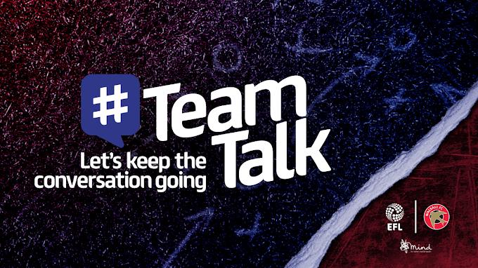 EFL Launches 'Team Talk' Mental Health Campaign