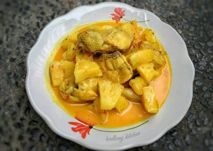 Resep Membuat Gulai Ayam Nanas Tanpa Tanding