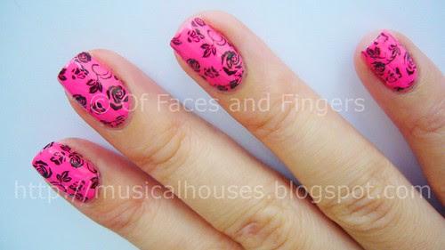 funky valentine day nails 2