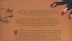 PDC back cover blurbs